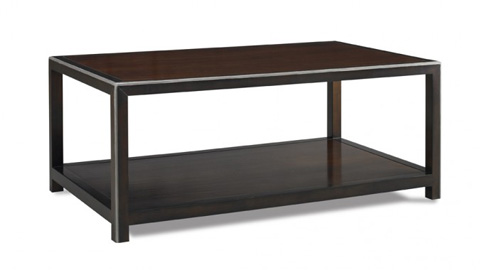 CTH-Sherrill Occasional - Rectangular Cocktail Table - 217-845