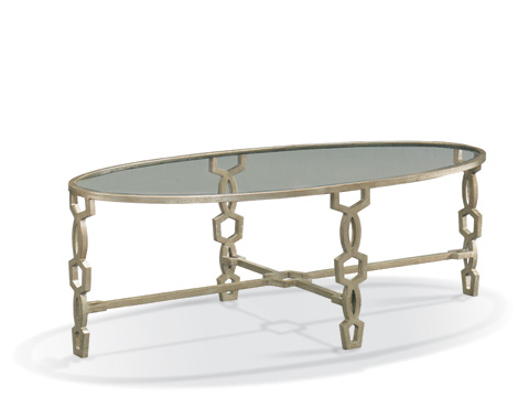 CTH-Sherrill Occasional - Oval Cocktail Table - 965-864