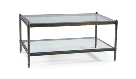 CTH-Sherrill Occasional - Rectangular Cocktail Table - M97-45B/M97-45T