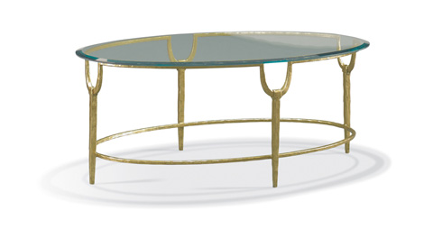 CTH-Sherrill Occasional - Oval Cocktail Table - 965-114G