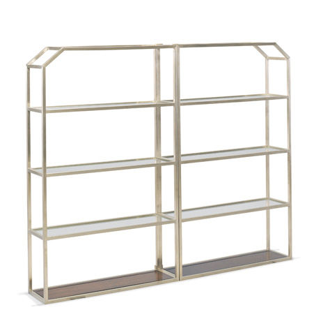 Image of Frankie Accent Metal Bookcase