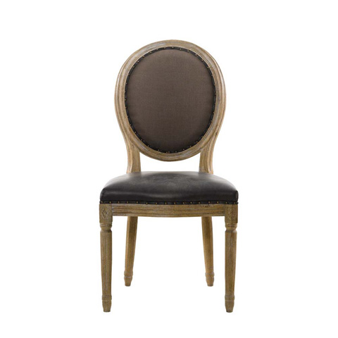 Image of Louis Glove Round Back Side Chair