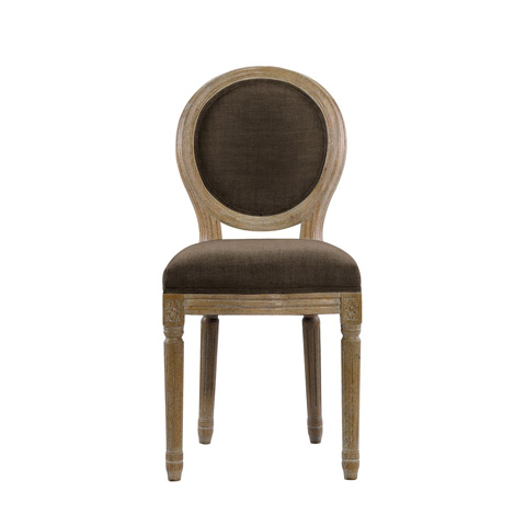 Image of Brown French Mini Beige Chair