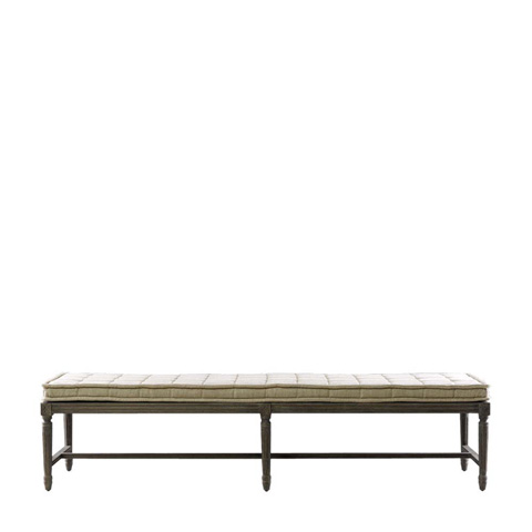 Curations Limited - Beige Tiana Bench - 7801.1130.A015