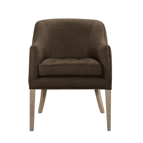 Curations Limited - Brown Ralf Chair - 7841.0087.A008