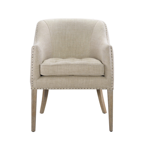 Curations Limited - Beige Ralf Chair - 7841.0087.A015