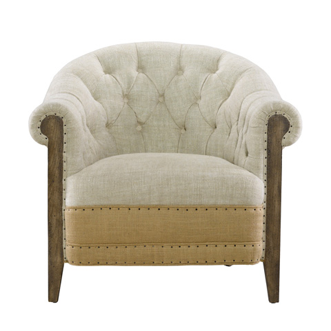 Curations Limited - Deconstructed Chambery Back Armchair - 7841.1006