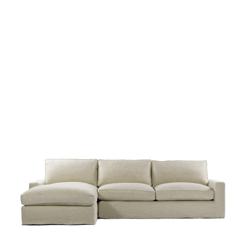 Curations Limited - Left Arm Facing Mons Upholstered Sectional - 7843.0001.LAF