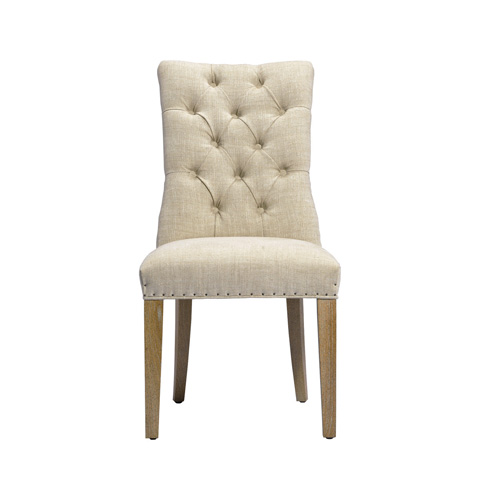 Image of Beige Albert Side Chair