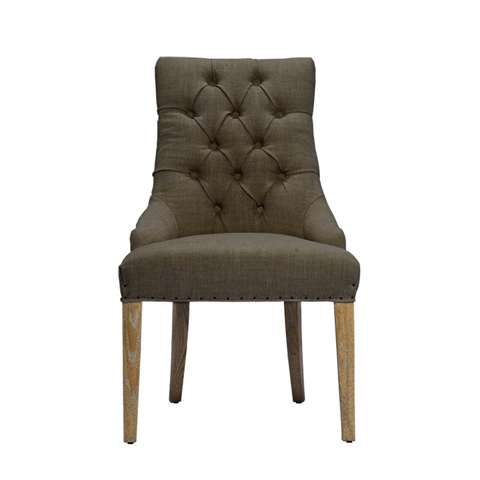 Curations Limited - Brown Albert Arm Chair - 8826.1006.A008