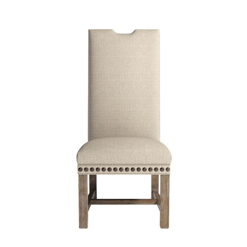 Curations Limited - Lompret Linen Chair - 8826.1301