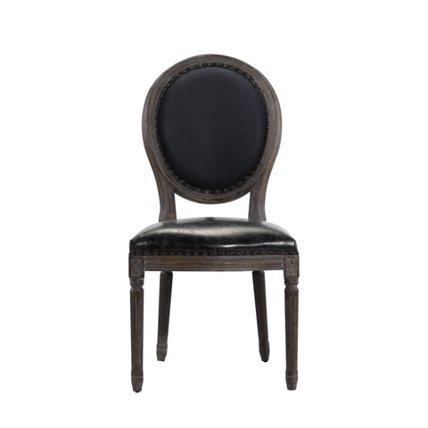 Image of Vintage Louis Indigo Side Chair