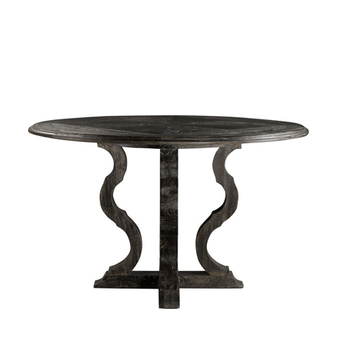 Curations Limited - Grey Kensington Table - 8831.1007