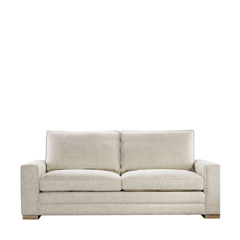 Curations Limited - Bleeker Linen Sofa - 7842.1207
