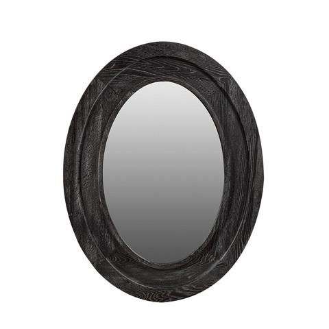Curations Limited - Vintage Black Olmetta Mirror - 9100.3170