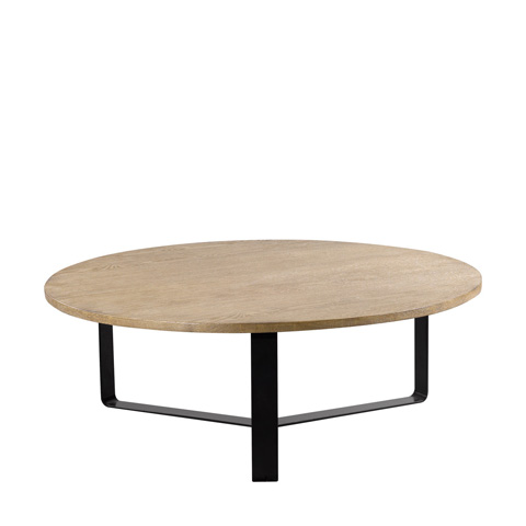 Curations Limited - Gap Round Coffee Table - 8832.0004