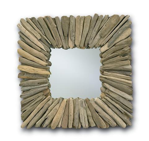 Currey & Company - Square Beachhead Mirror - 1030