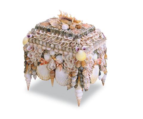 Currey & Company - Boardwalk Shell Jewelry Box - 1251