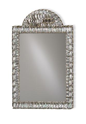 Currey & Company - Abalone Mirror - 1325