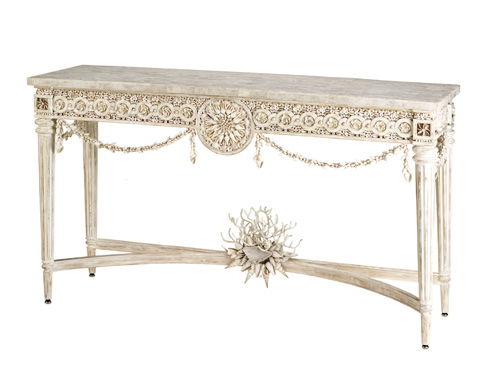 Currey & Company - Devereux Console Table - 2000