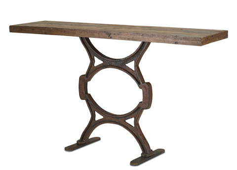 Currey & Company - Factory Console Table - 3022