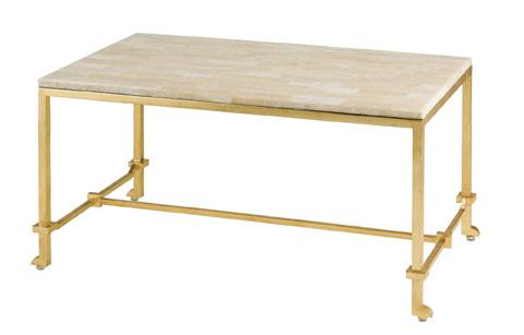 Currey & Company - Delano Coffee Table - 4126