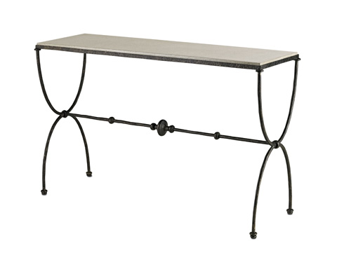 Currey & Company - Agora Console Table - 4142