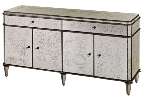 Currey & Company - Antique Mirror Credenza - 4208