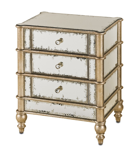 Currey & Company - Harlow Three Drawer Chest - 4211