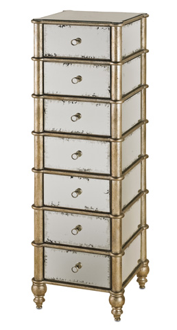 Currey & Company - Harlow Seven Drawer Chest - 4212
