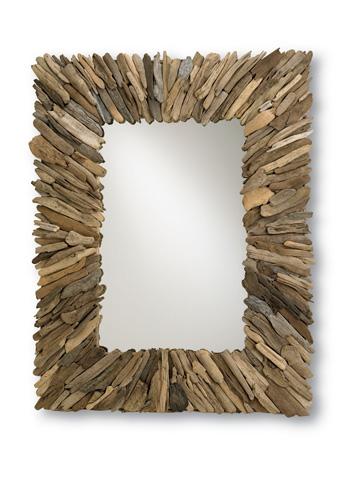 Currey & Company - Beachhead Mirror - 4344