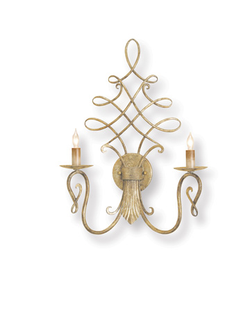 Currey & Company - Regiment Wall Sconce - 5006