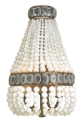 Currey & Company - Cream Lana Wall Sconce - 5187