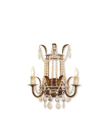 Currey & Company - Laureate Wall Sconce - 5543