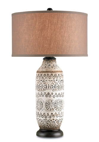 Currey & Company - Intarsia Table Lamp - 6350
