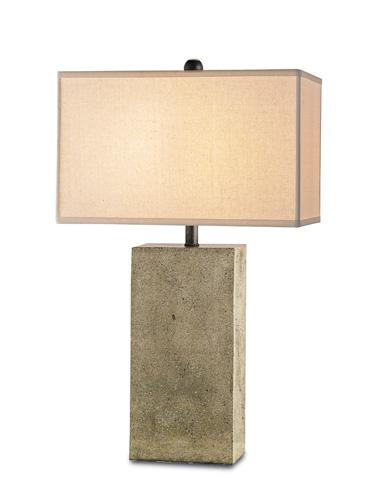 Currey & Company - Symbol Table Lamp - 6390