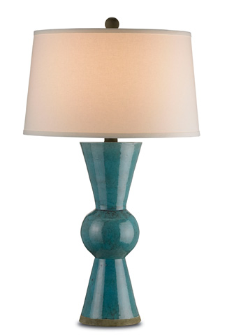 Image of Teal Upbeat Table Lamp