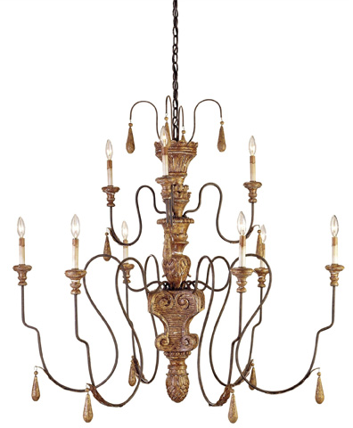 Currey & Company - Mansion Chandelier - 9324