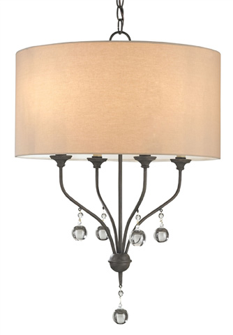 Currey & Company - Penmere Chandelier - 9432