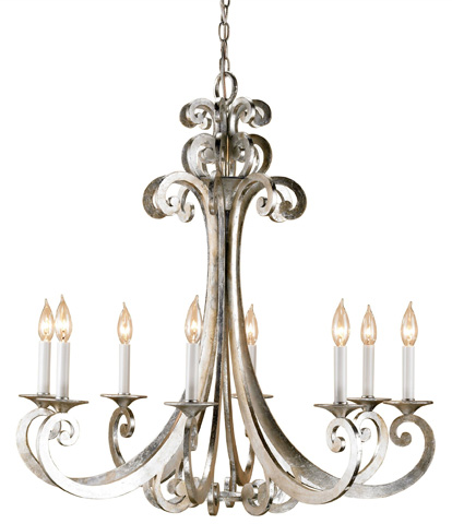 Currey & Company - Constellation Chandelier - 9666