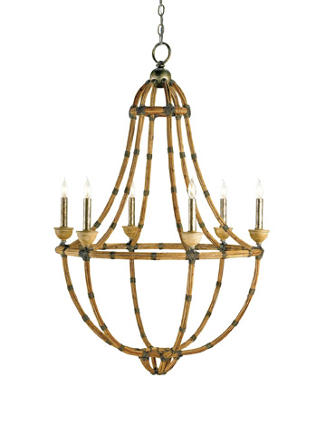 Currey & Company - Palm Beach Chandelier - 9693