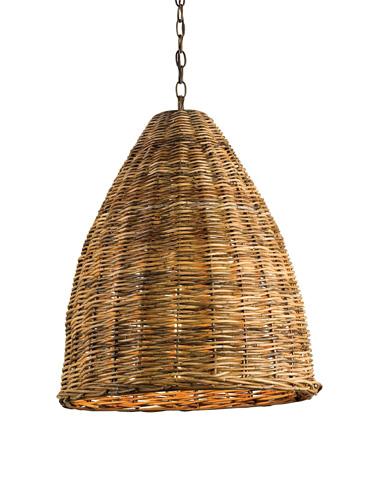 Currey & Company - Basket Pendant - 9845