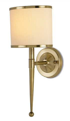 Currey & Company - Primo Wall Sconce - 5121