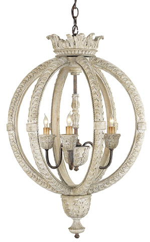 Currey & Company - Dauphin Chandelier - 9134