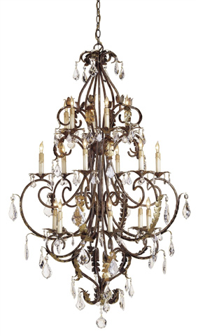 Currey & Company - Heirloom Chandelier - 9569