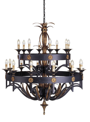 Currey & Company - Camelot Chandelier - 9837