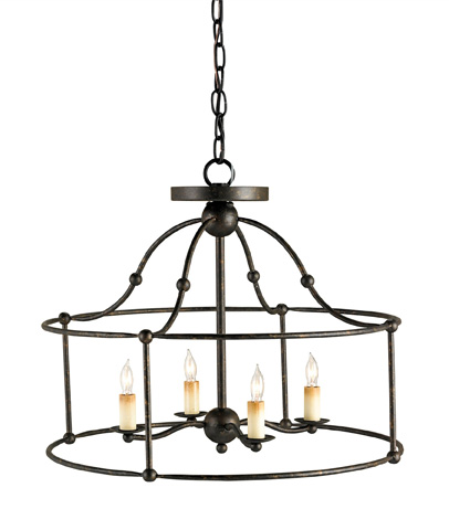 Currey & Company - Fitzjames Ceiling Mount Pendant - 9878