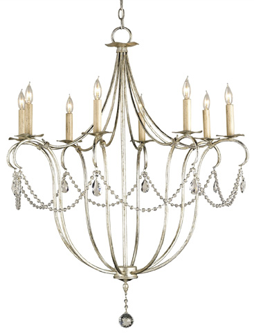 Currey & Company - Crystal Lights Chandelier - 9891