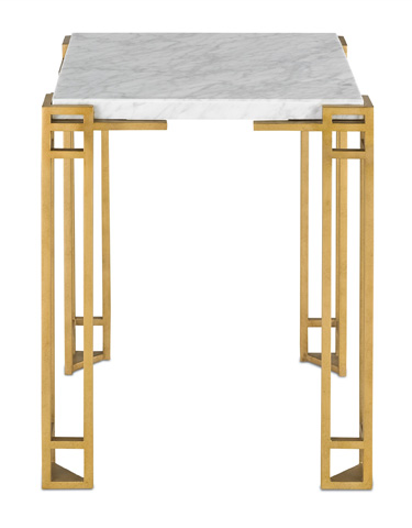 Currey & Company - Zhin Accent Table - 4198