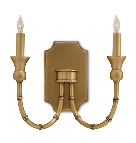 Currey & Company - Imperial Bamboo Wall Sconce - 5218
